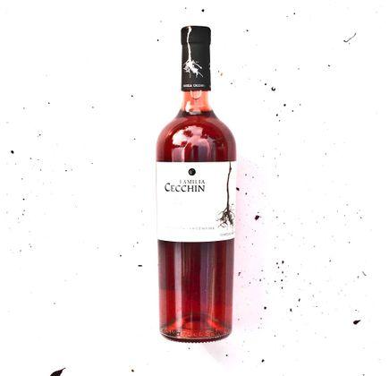 Vinho Orgânico Malbec Rose 750ml - Familia Cecchin