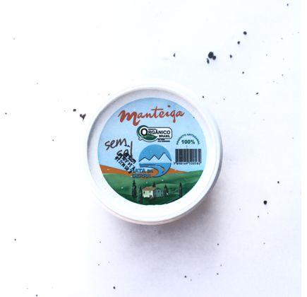 Manteiga Orgânica sem Sal  200g - Nata da Serra