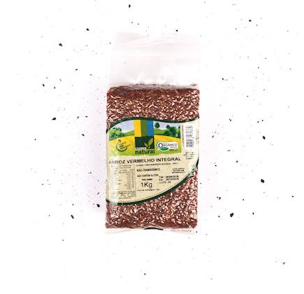 Arroz Vermelho Integral Orgânico 1kg - Coopernatural