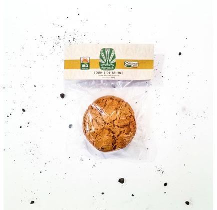 Cookie de Tahine Artesanal Orgânico 130g - Alvorada